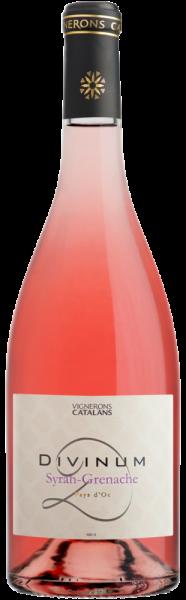 Divinum Syrah-Grenache Rosé Pays d'Oc - Jahrgang: 2018