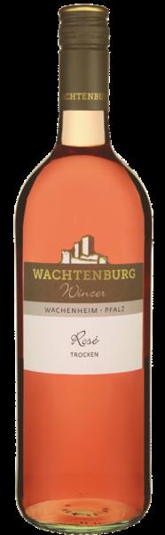 Wachtenburg Pfalz Rosé trocken 1,0L - Jahrgang: 2019