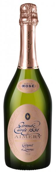Grand Cuvée 1531 de Aimery Cremant Rosé Brut de Limoux