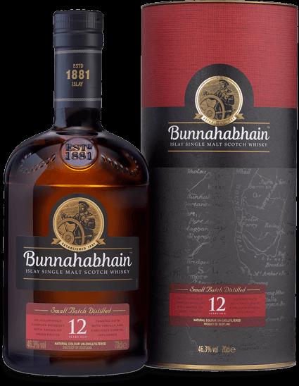 Bunnahabhain 12 Years Old Single Islay Single Malt Whisky