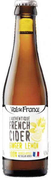 Val de Rance - French Cidre Ginger Lemon - 0,33L