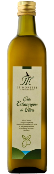 Le Morette Olivenöl - Garda DOP Extra Virgin 0,5L - 2018