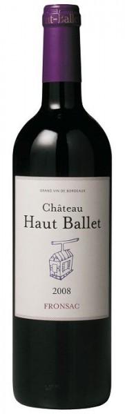 Château Haut Ballet Fronsac AOC - 2012