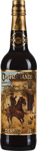 Valdespino Contrabandista Sherry Amontillado Medium Dry