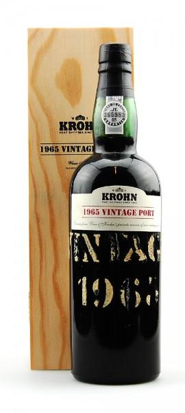 Krohn Vintage Port - 1965
