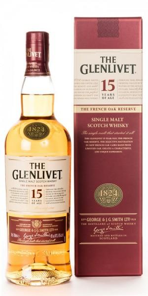 Glenlivet French Oak Reserve 15 Years Single Malt Whisky