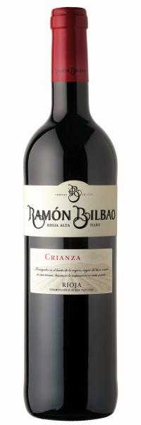 Ramon Bilbao Rioja Crianza DOCa - 2015 3,0L Doppelmagnum in Holzkiste
