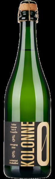 Kolonne Null Riesling Brut prickelnd alkoholfrei - Jahrgang: 2019