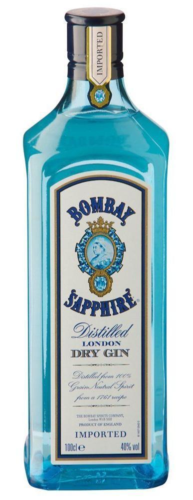 bombay sapphire dry gin 40 1 l preisvergleich dry gin g nstig kaufen bei. Black Bedroom Furniture Sets. Home Design Ideas