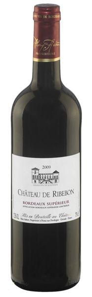 Château de Ribebon Bordeaux Supérieur - 2015