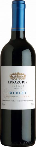 Errázuriz Estate Merlot Reserva - 2014