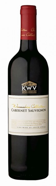 KWV Winemakers Collection Cabernet Sauvignon - 2018